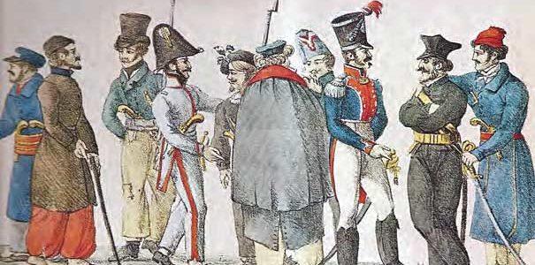 Οι μηχανορραφείς Άγγλων και Γάλλων στην έναρξη της Επανάστασης του 1821